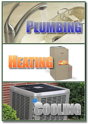 Plumbing, heating and cooling - services provided by Bramm's.